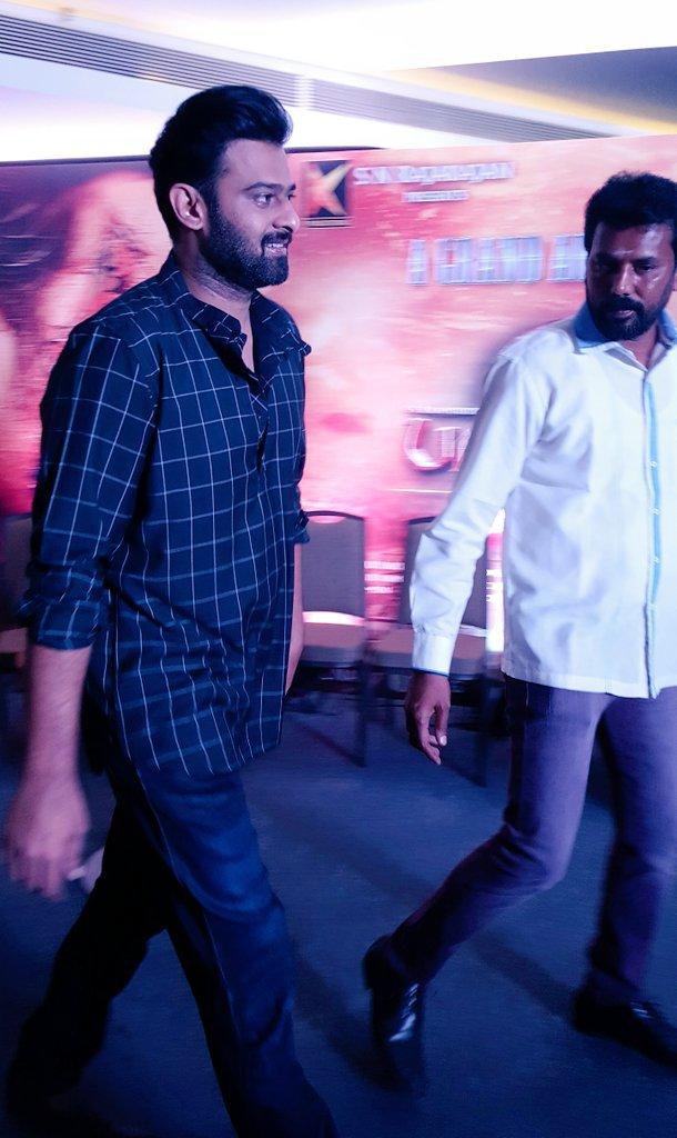 Prabhas at Baahubali 2 Tamil Movie Press Meet Photos