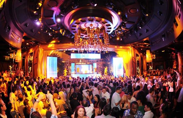 Balada XS Nightclub no Hotel Wynn em Las Vegas