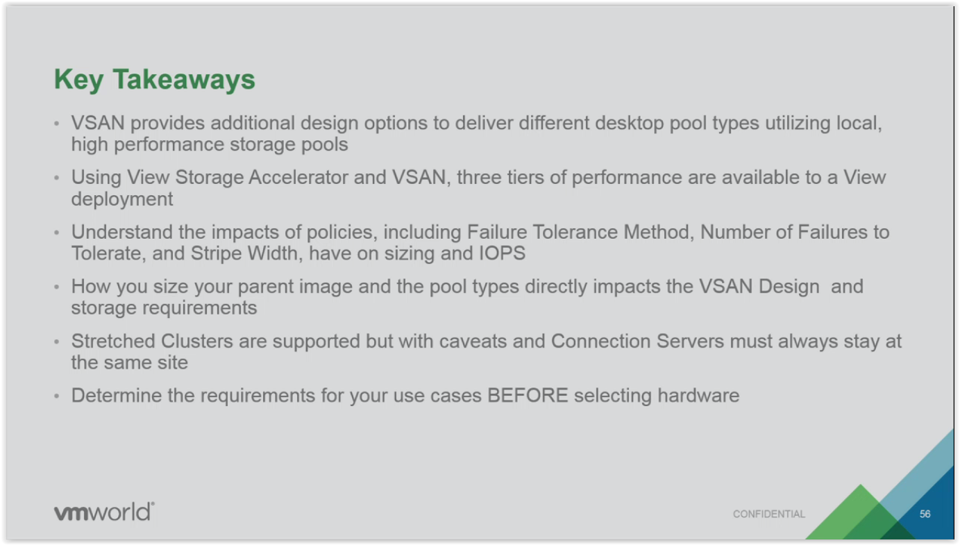 RaviTech: EUC8648R - Architecting VSAN for Horizon the VCDX