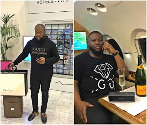 Hushpuppi has a message for his haters