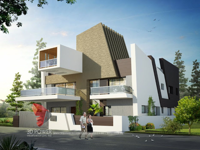 Ultra modern home designs home designs for Indian bungalow design