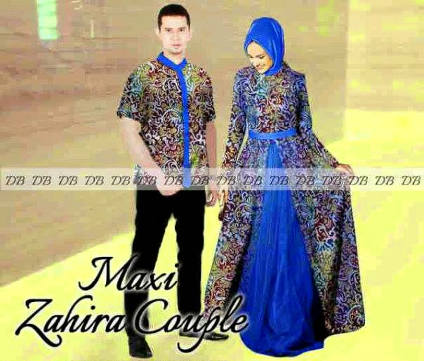 Model Baju Gamis Terbaru Batik Pesta Bahan Brokat Sifon Model Baju