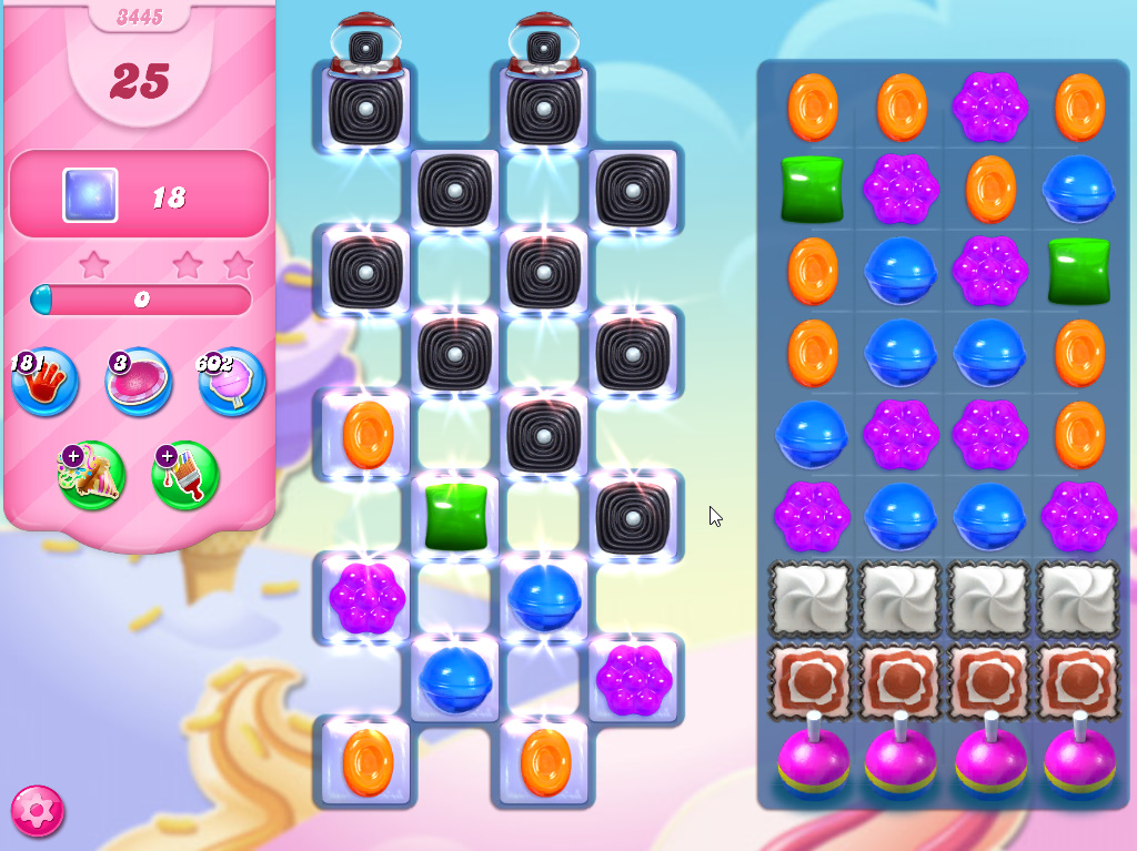 Candy Crush Saga level 3445