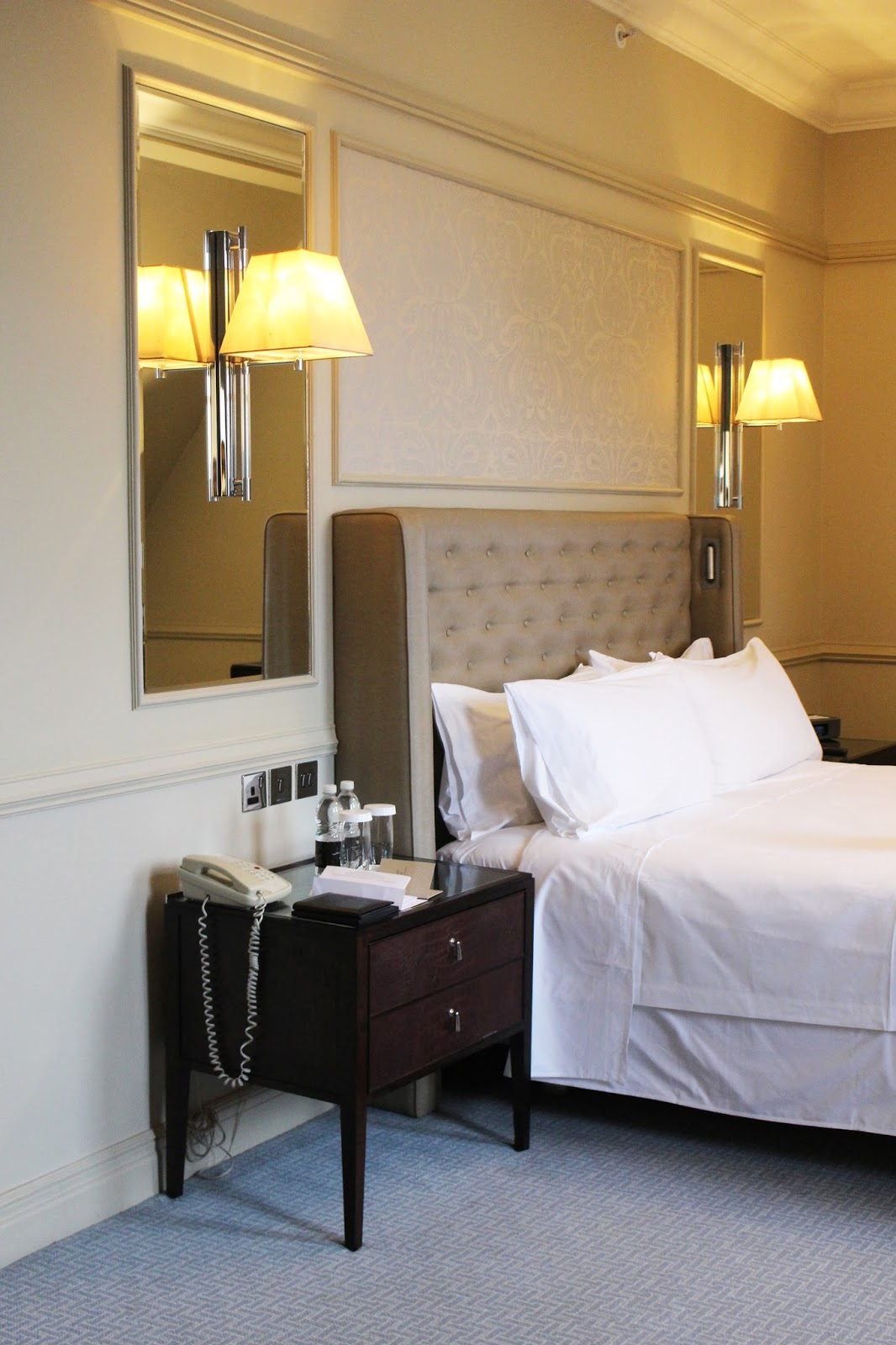 waldorf astoria edinburgh premium room