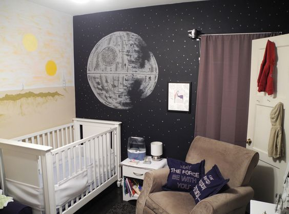 Star Wars Bedroom Decorations Inspiration For Childrens 8