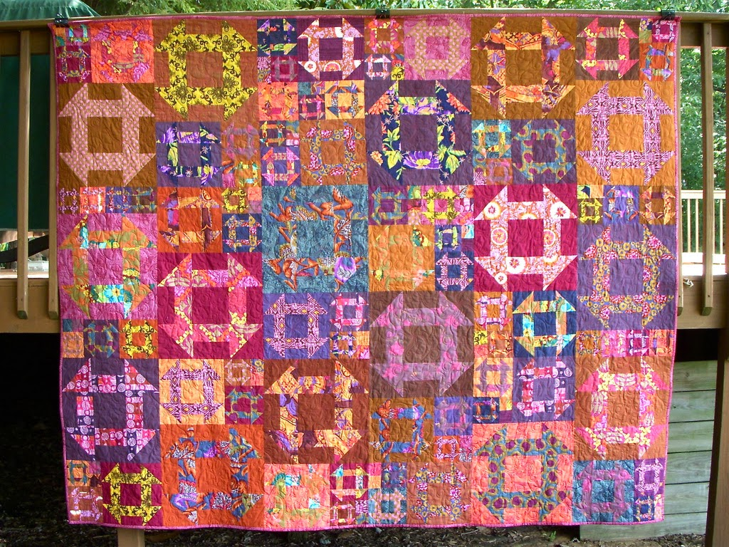 Twiggy And Opal Finished Quilts