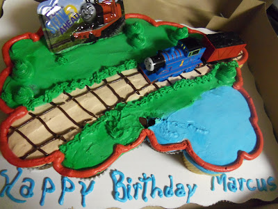 Marcus Turns Two Our Thomas The Tank Engine Cake Lille