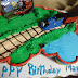 Marcus Turns Two: Our Thomas the Tank Engine Cake