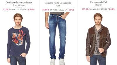 ropa desigual hombre