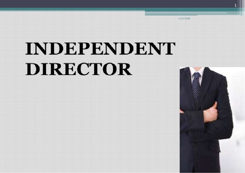 independent director By accepting the appointment, the independent director confirms that he is able to allocate sufficient time to perform his role as an independent director of the company.