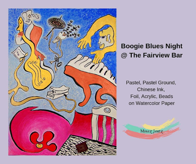 Boogie Blues at The Fairview by Minaz Jantz