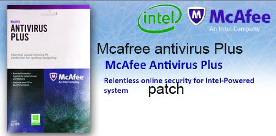 McAfee Antivirus Plus 2015 Patch License Key Portable Crack