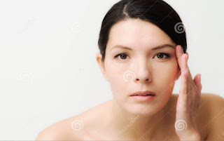 Facial Signs of Diseases in woman
