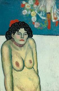 """""""La Gommeuse"""", Pablo Picasso"""