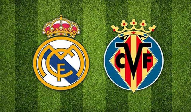 نتيجة مباراه ريال مدريد وفياريال 2-2 في الدوري الاسباني