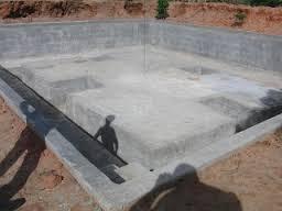 concrete%2Bpond1 - Unawezaje Kutengeneza Bwawa la Kufugia Samaki?