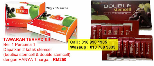 Promosi Terhad Beutica Stemcell & Double Stemcell