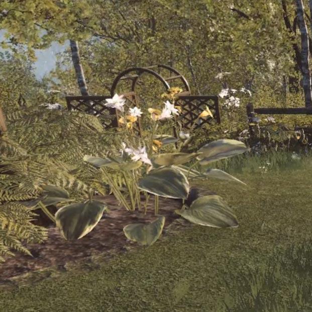 The Garden Wallpaper Engine