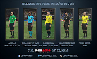 REFEREE KIT PACK v3 15/16 (DLC 3.0)