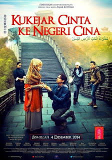 Download Film Kukejar Cinta ke Negeri Cina (2014) DVDRip Full Movie