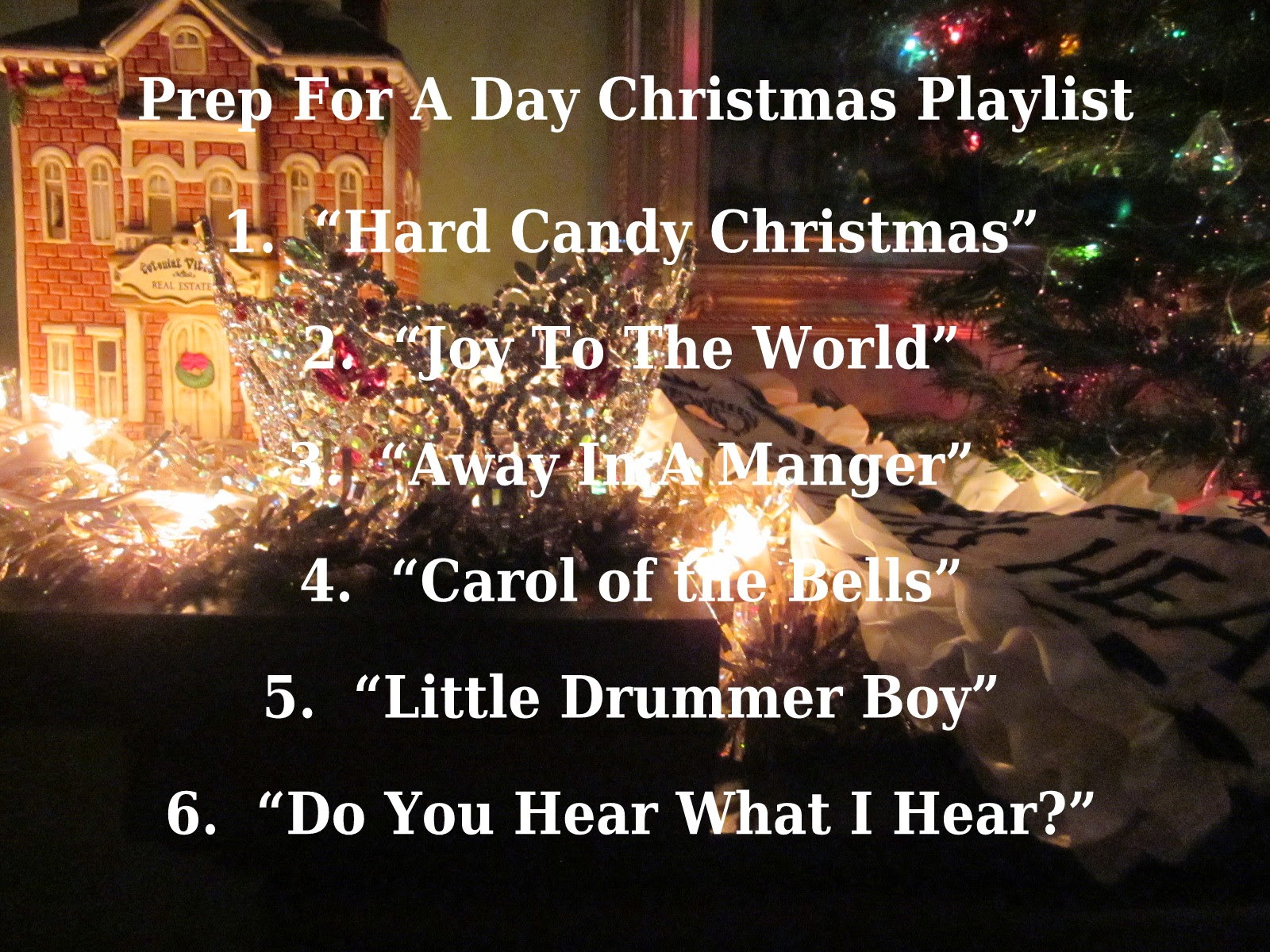 Christmas Classics and Carols -- Prep For A Day
