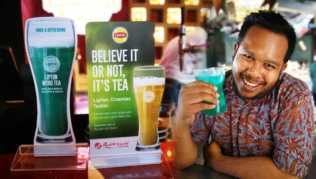 LIPTON NITRO TEA | TEH DENGAN NITROGEN