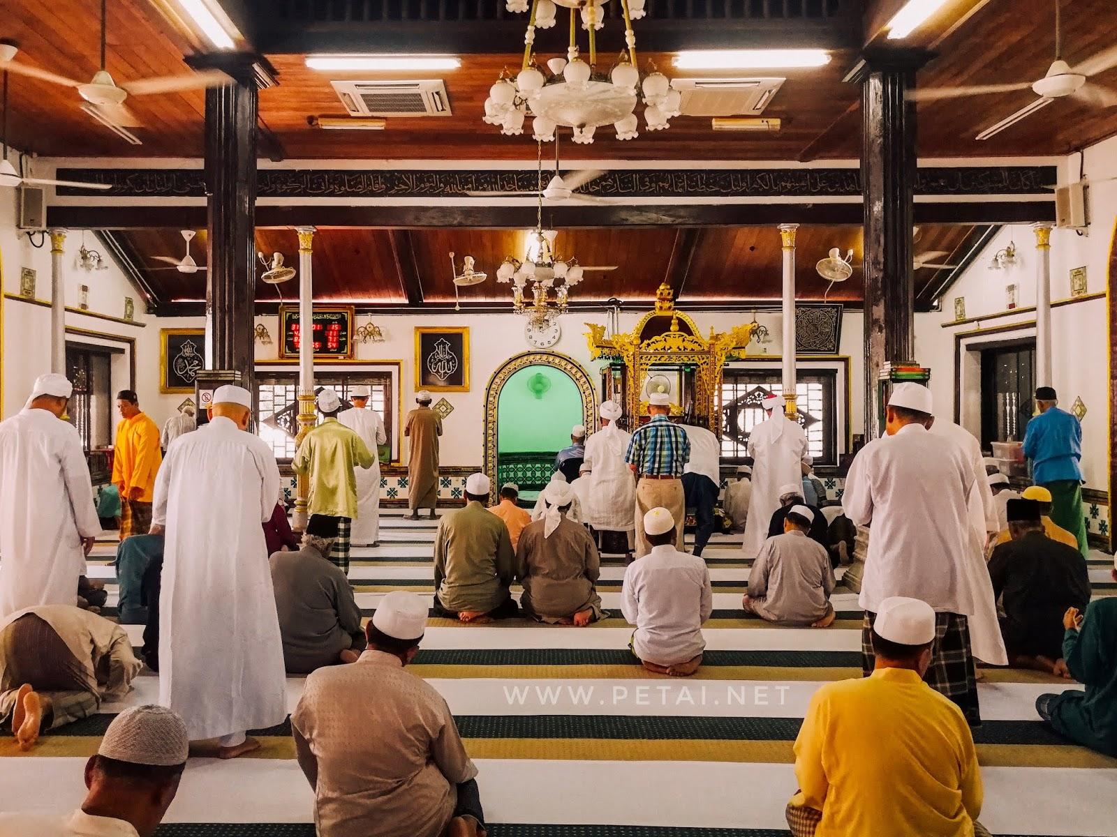 Masjid Tengkera, Melaka - jemaah