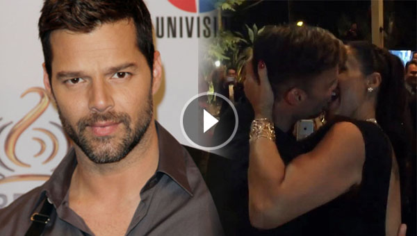 Trending Video: Ricky Martin kisses a female fan for $90,000