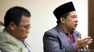 Dengar PKS Mau Jadi Cawapres Jokowi, Fahri Hamzah Mengaku Sedih - Info Presiden Jokowi Dan Pemerintah