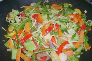 Stir Fried Vegetables (Sebze Kokteyli)