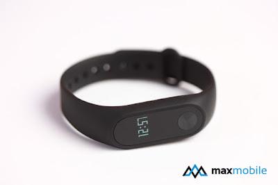 Thiết kế nhỏ gọn, tinh tế của vòng đeo tay thông minh Mi Band 2