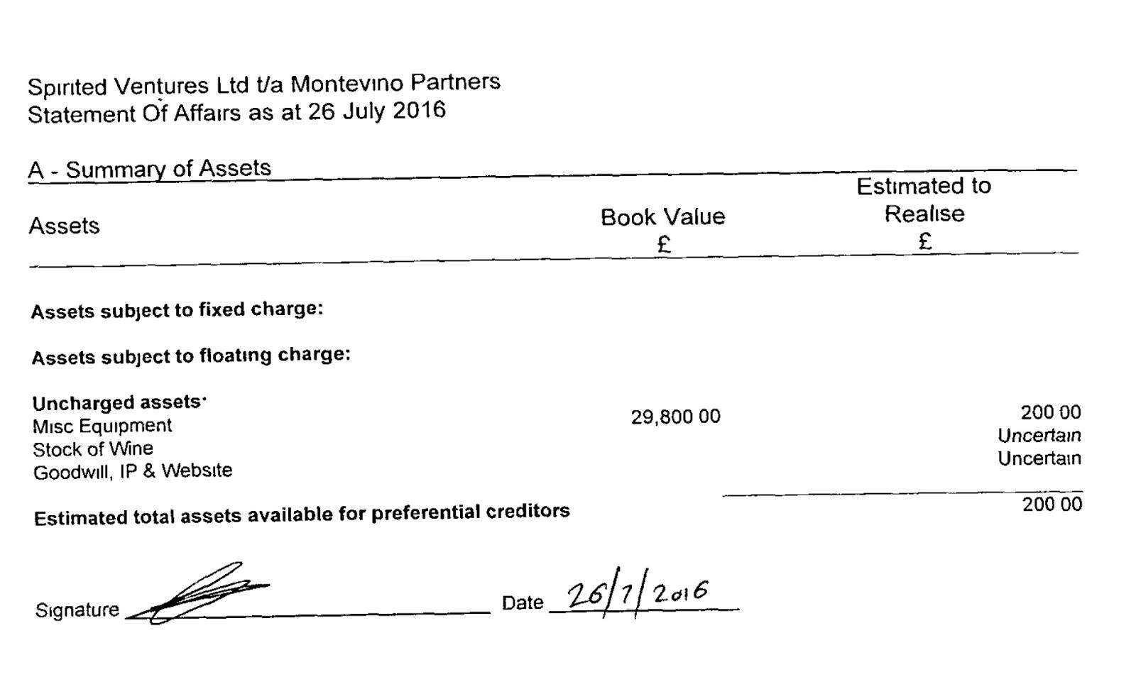 Jim\'s Loire: Montevino Partners Mark 2: briefly active + Michael ...