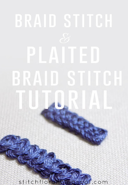 Braid stitch & Plaited braid stitch