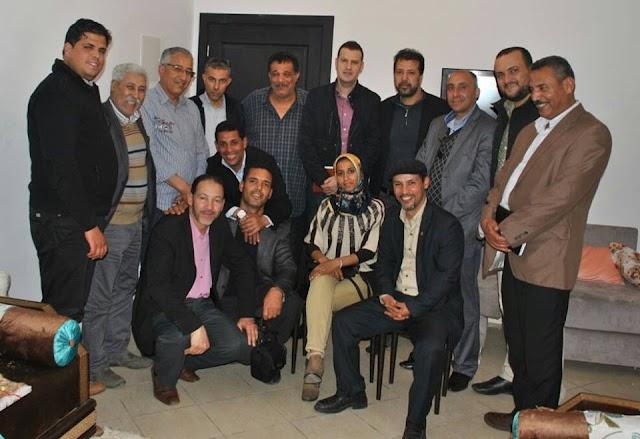 طارق قديري يجتمع بالتنسيقية المنتدبة من طرف الجمعيات المدنية بمدينة الگارة