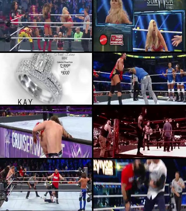 WWE Survivor Series 2016 PPV 480p Full Show Download