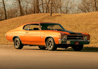 1971 Chevrolet Chevelle Malibu SS Front Right
