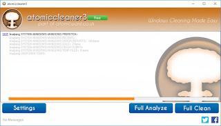 برنامج atomiccleaner3 v1.3.3.6 لتنظيف وتسريع الكمبيوتر