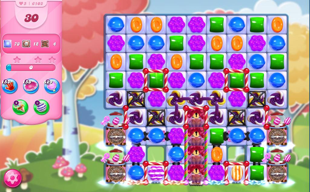 Candy Crush Saga level 6102