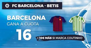 Paston Megacuota Barcelona vs Betis 11 noviembre