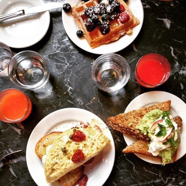 Breakfast at Caroline's: Breakfast at Buvette, West Village, NYC