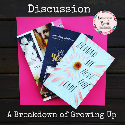 Discussion: A Breakdown of Growing Up - featuring 3 of my #LoveOzYA favourites!