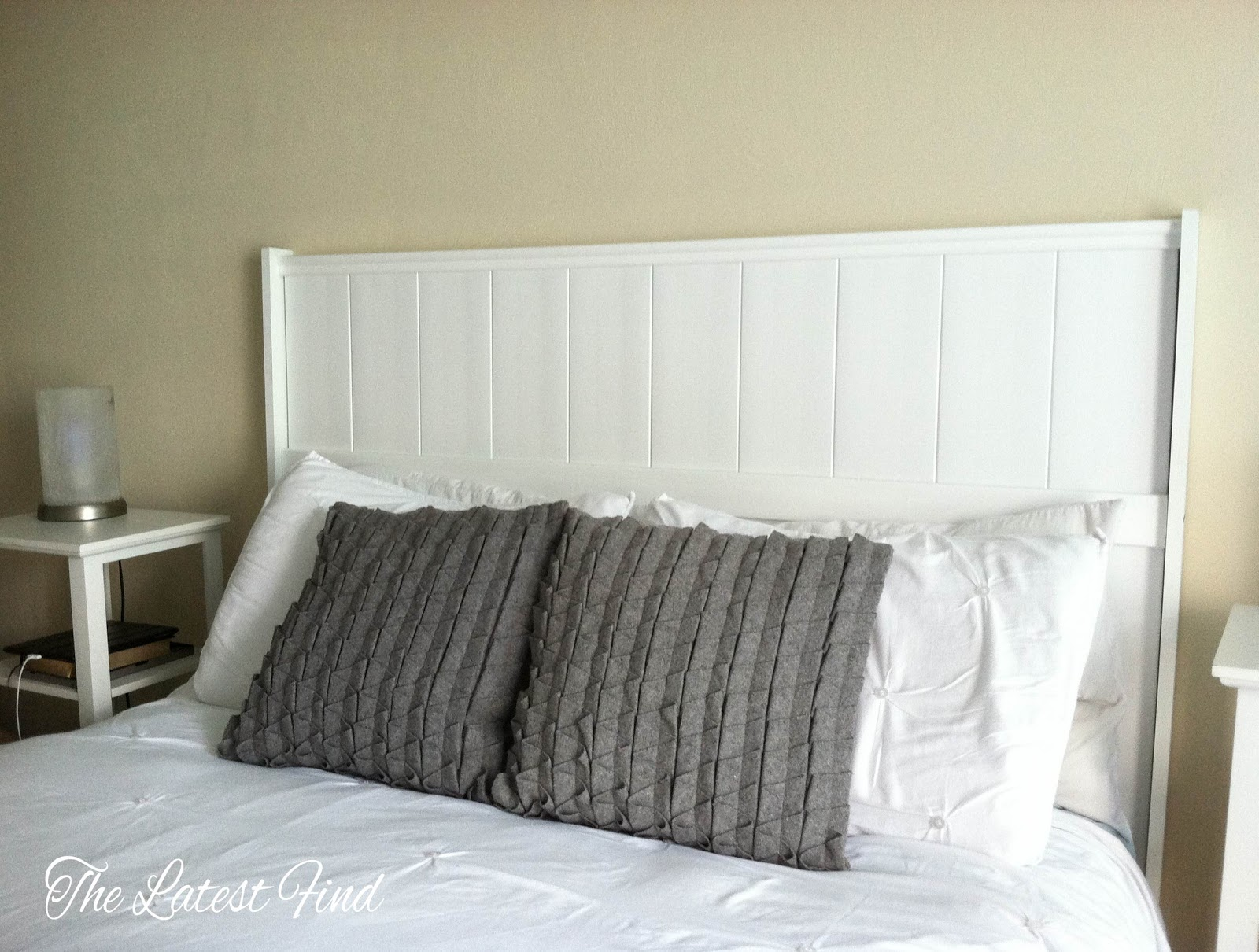 Make It Create By Lillyashley Freebie S Diy Headboard From Fence Panel