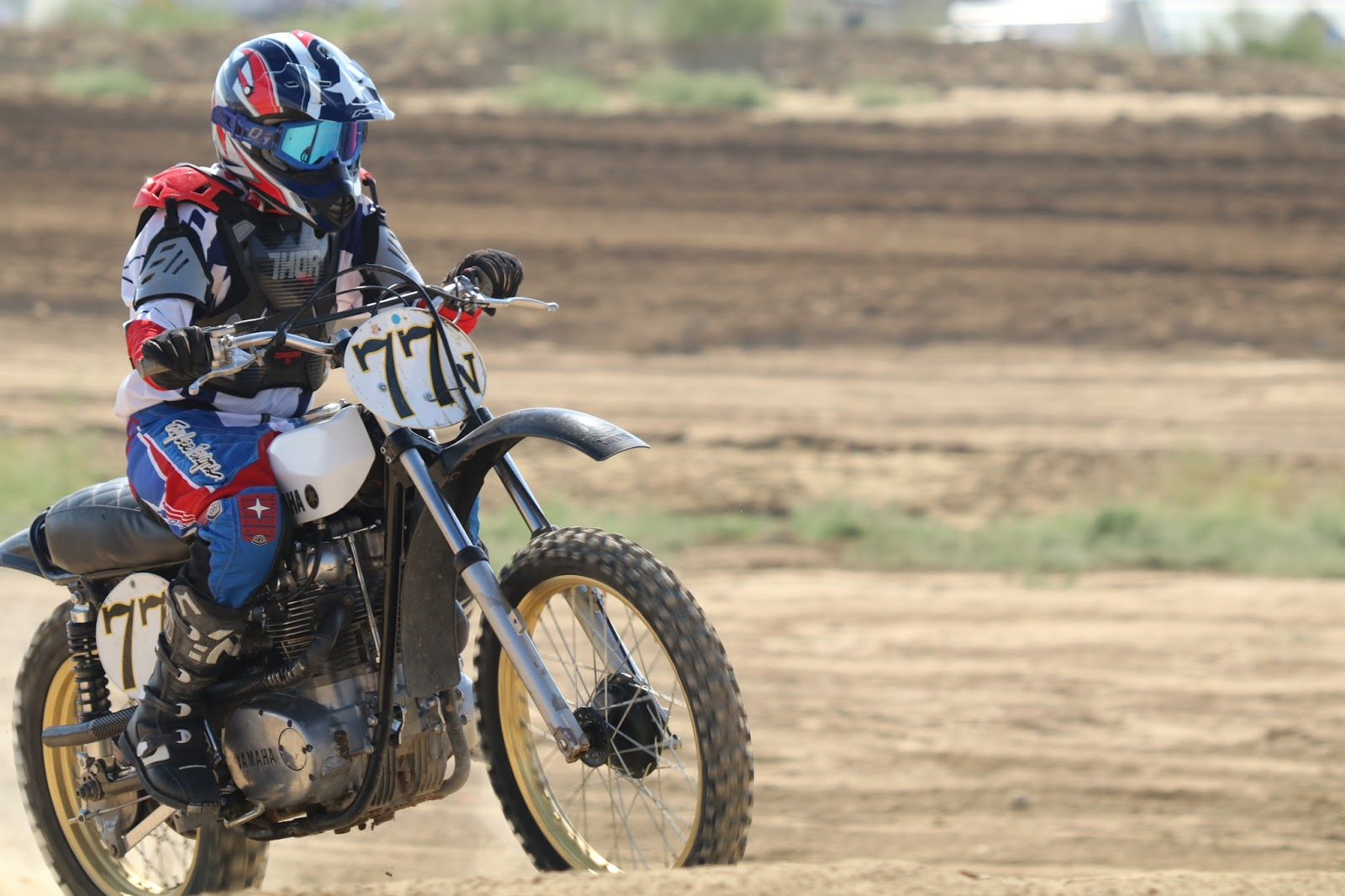 Oldmotodude yamaha xs650 motocrosser v77 raced at the for Rocky mountain motor sports