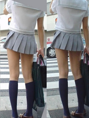 rok mini pelajar putri Jepang