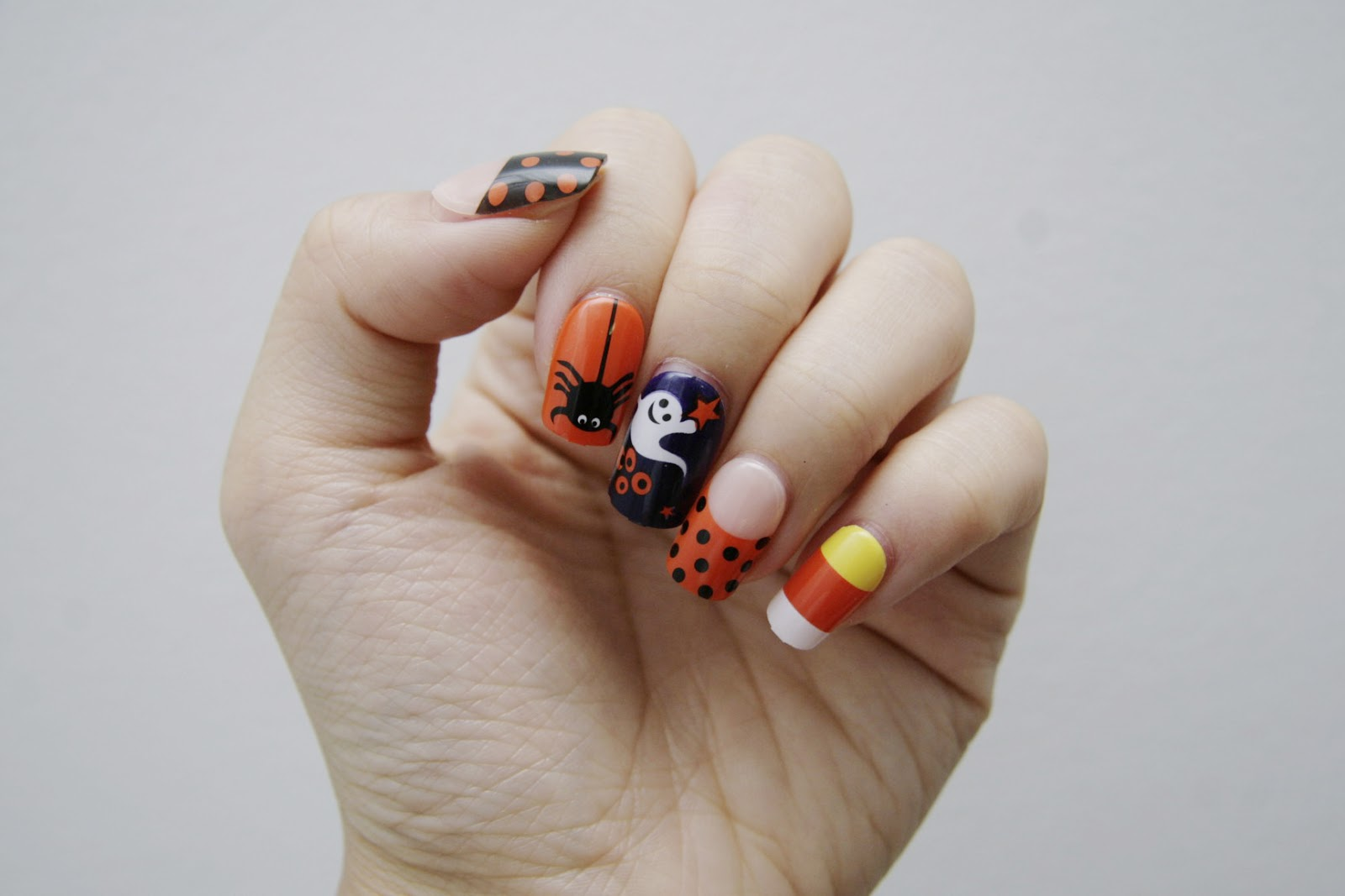 fun size beauty: #HALLOWEEN - Nails for Lazy People ...