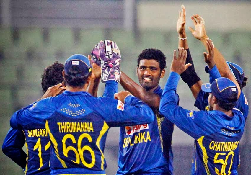 Sri Lanka beat Afghanistan to reach Asia Cup 2014 final