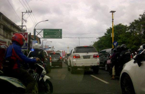 Titik Kemacetan di Yogyakarta Saat Natal dan Tahun Baru
