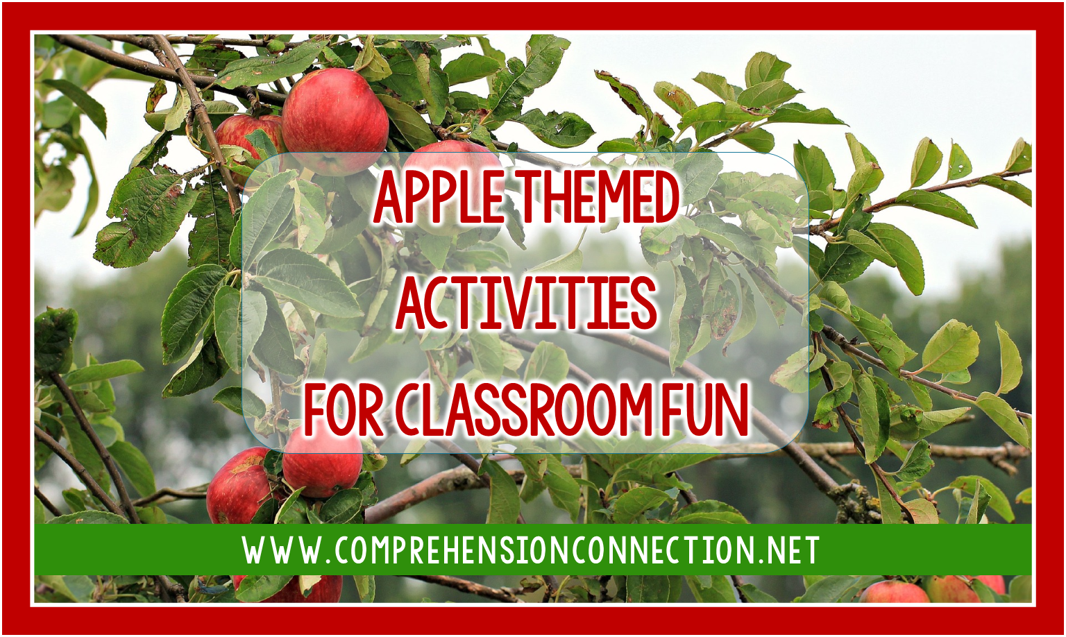 It's apple season, and this post shares apple themed activities you can use this fall. From great literature to writing ideas, to fun craftivities you can add with either, Check out the fun options to make your planning easier.