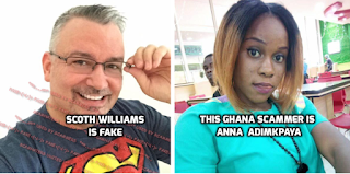 ScamHaters United Ltd: AFRICAN FACES BEHIND GOOD LOOKING MEN