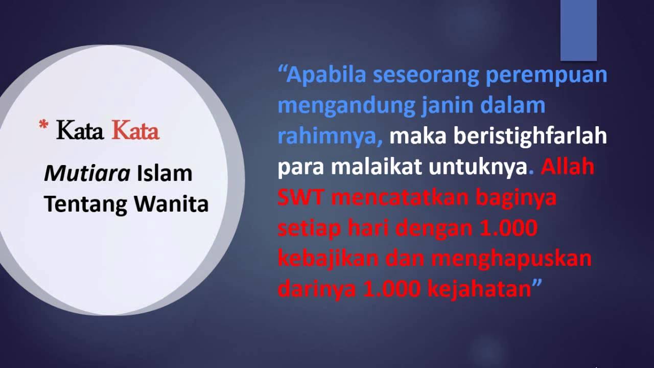Kata-Kata Bijak Muslimah Sholehah Yang Menyejukan Hati ...
